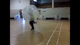 Kilkenny Stag Party play Bubble Soccer