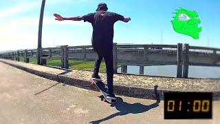 Gosma Skate - Caê Chagas 1 Min. Manual na ponte