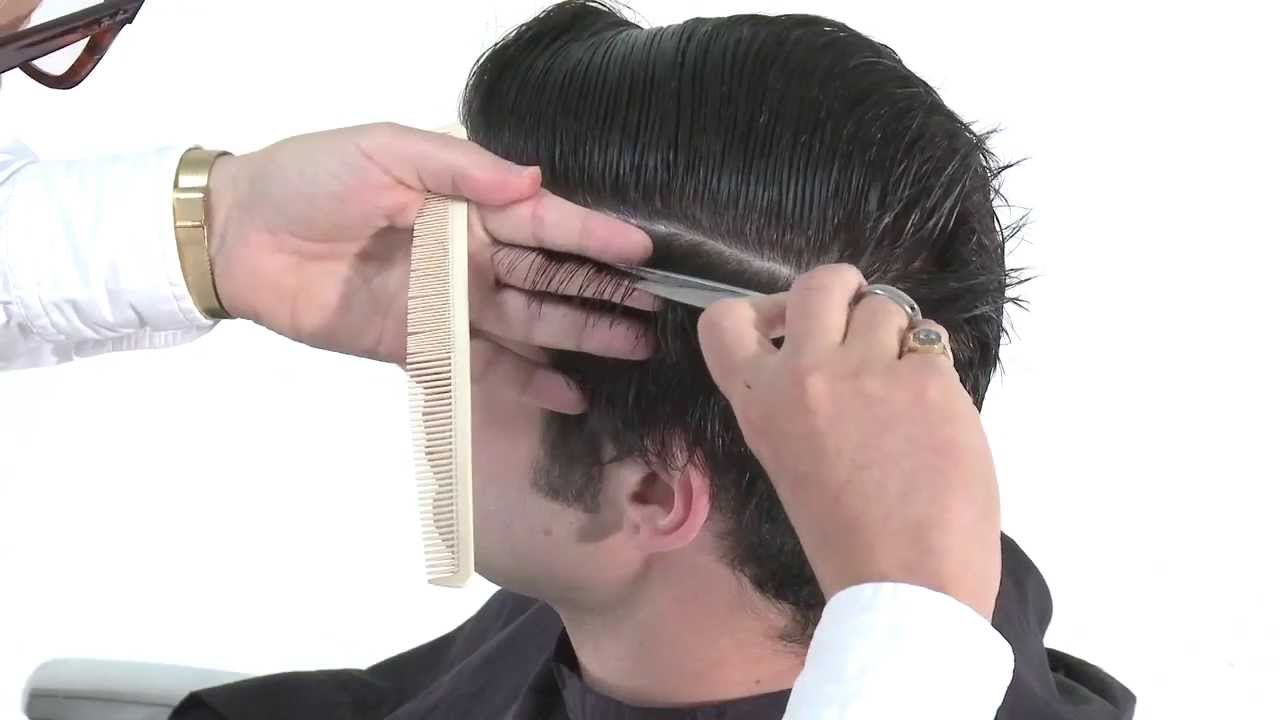 hair cutting style boys fudge professional teddy boy haircut tutorial 6382 | maxresdefault