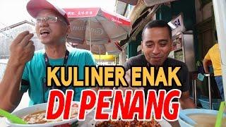 Kuliner Enak di Penang Malaysia Yang Kamu Harus Coba | Asam Laksa - Char Kway Teow dan Es Cendol