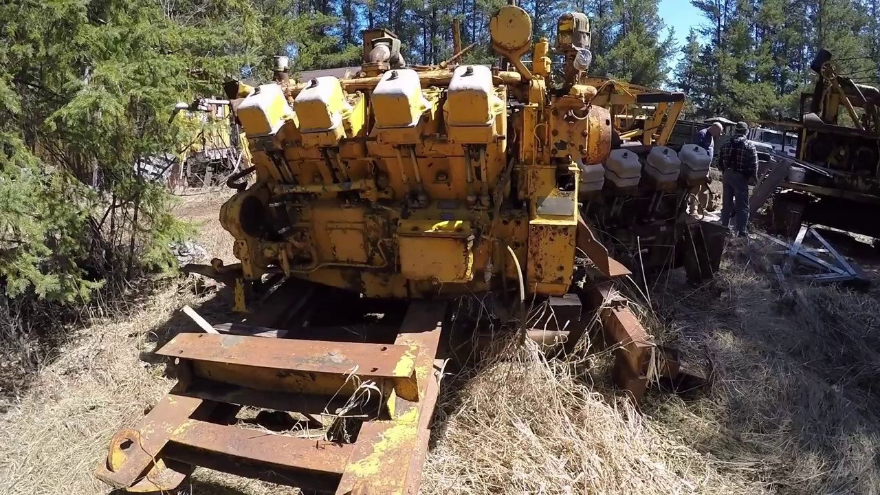 Caterpillar D Power Unit Engines