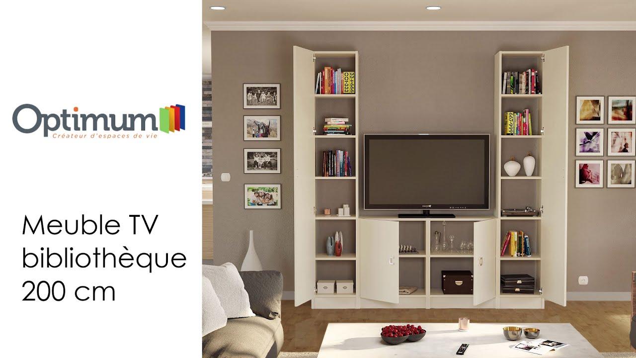 amenagement optibox notice de montage de la configuration meuble tv bibliotheque