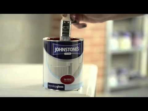 How to paint previously painted furniture by Johnstone's