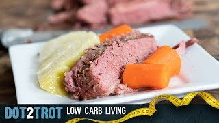 St. Paddy's Corned Beef & Cabbage | Low Carb