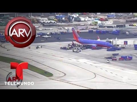 Pistolero mata a varias personas en aeropuerto de Fort Lauderdale | Al Rojo Vivo | Telemundo