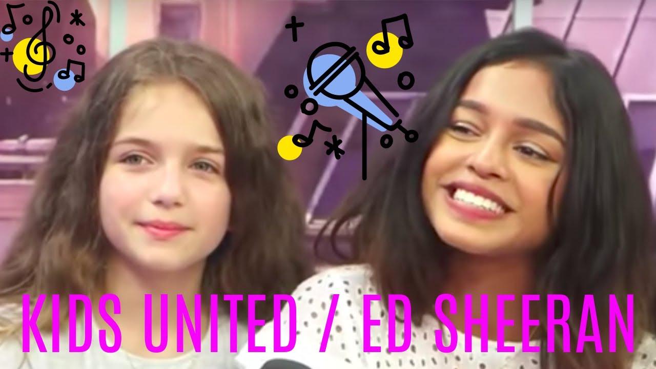 Kids United Chantent Ed Sheeran Shape Of You Cover