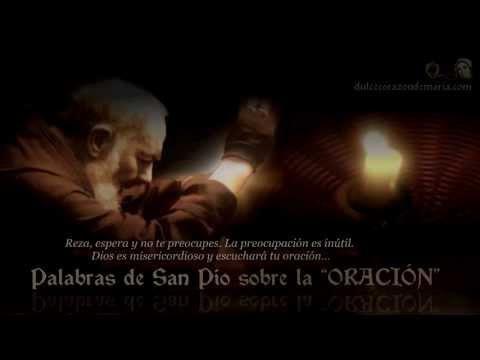 Palabras de San Pío sobre la ORACIÓN ☩