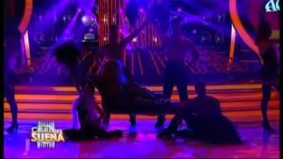 Laura Esquivel como Christina Aguilera - Tu Cara Me Suena (Gala 2)