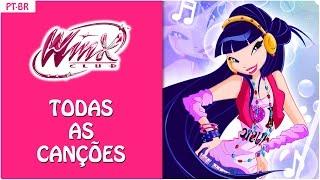 Winx Club - All songs from Season 5! // Brazilian Portuguese