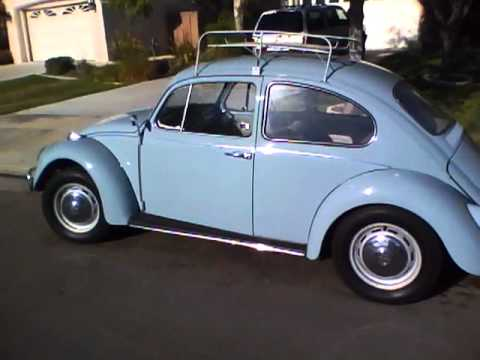 Clean VW bugs daily drivers