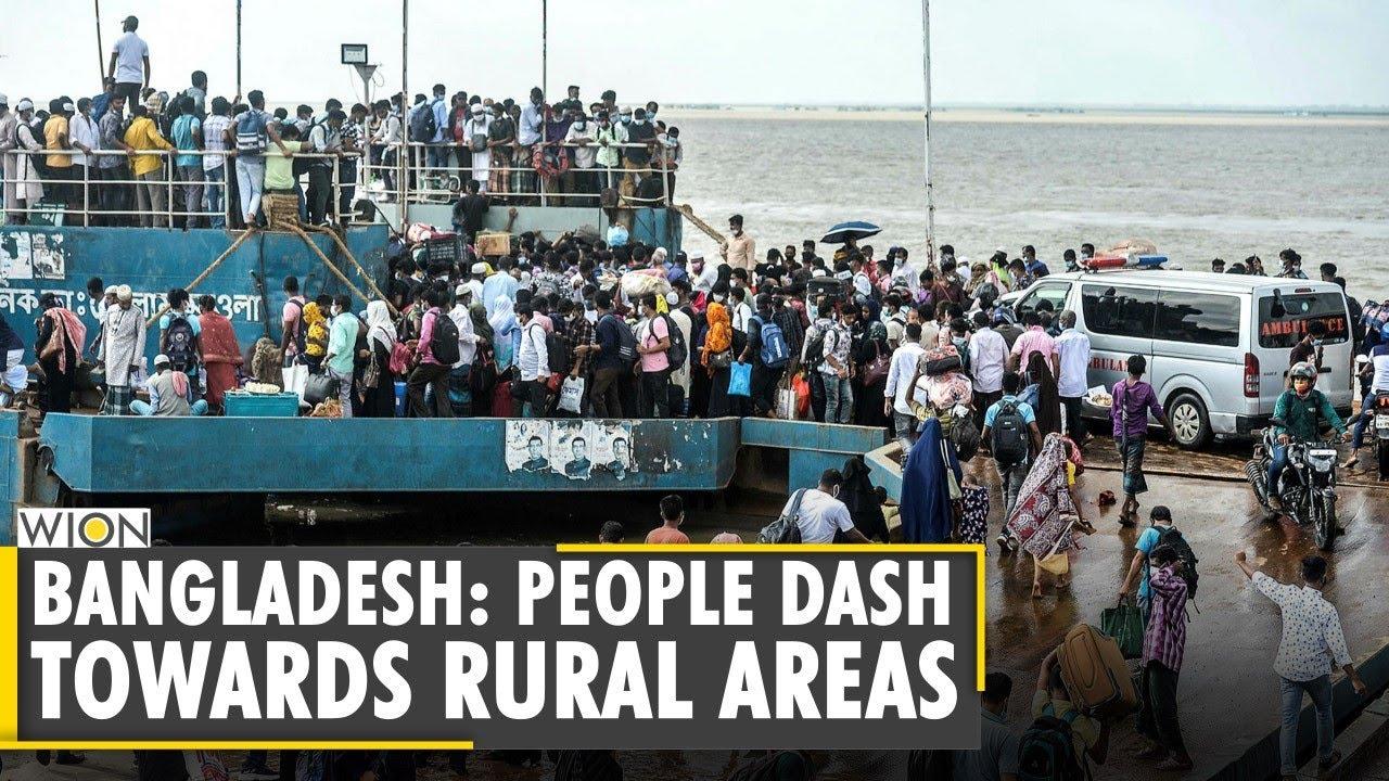 Bangladesh: Thousands flee Dhaka ahead of Lockdown | Coronavirus | COVID-19 | Latest English News