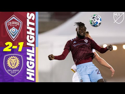 Colorado Rapids 2-1 Orlando City | Last-Minute Winner AGAIN for Colorado | MLS HIGHLIGHTS
