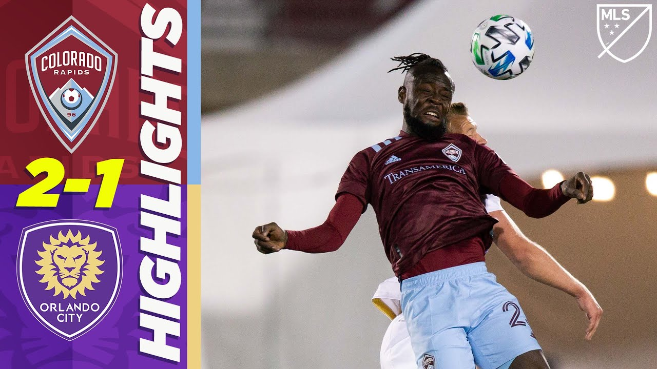 Colorado Rapids 2-1 Orlando City | Last-Minute Winner AGAIN for Colorado | MLS HIGHLIGHTS