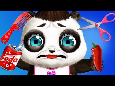 Fun Baby Pet Animal Care - Panda Lu Bear Care Babysitting, Daycare Clean Up Dress Up Kids Games