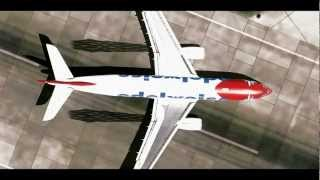 FsX Edelweiss Air landing in Zurich, Switzerland [HD,1080p]