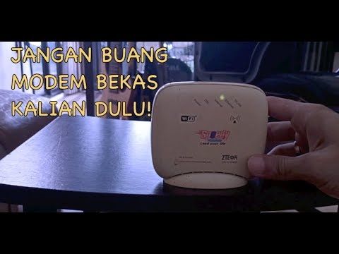 Tutorial Cara Setting Modem Bekas Speedy Indihome Jadi Router Atau Penguat Sinyal Youtube