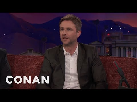 "Chris Hardwick Feels Like A Customer Service Rep For ""The Walking Dead"" - CONAN on TBS"