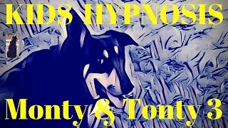 Kids Hypnosis - Adventures of Monty and Tonty Bedtime Story - Doggy Fun at The Beach for Sleep