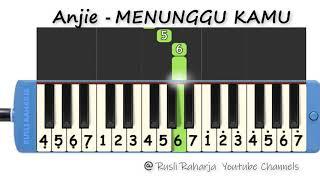 Download lagu Anjie  - meninggu kamu - not pianika