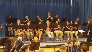 """2016 Tates Creek Middle School Jazz Band """"The Blues at Frog Bottom"""""""