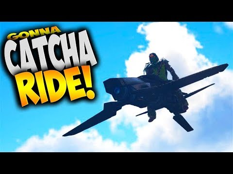 Ark Survival Evolved - Flying Machine! (Modded Ark Gameplay Part 11) (Borderlands Catch a Ride Mod)