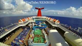 Carnival Cruise Ship Paradise In Caribbean Sea