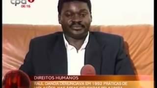 Raul Danda denunciava em 1992 práticas de violações nas áreas ocupadas pela UNITA