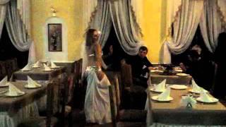 Восточный танец в ресторане Ливадия
