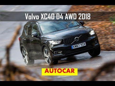 Volvo XC40 D4 AWD First Edition 2018 review