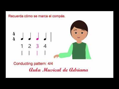 Ejercicios de lectura musical y entonación: silencio de corchea