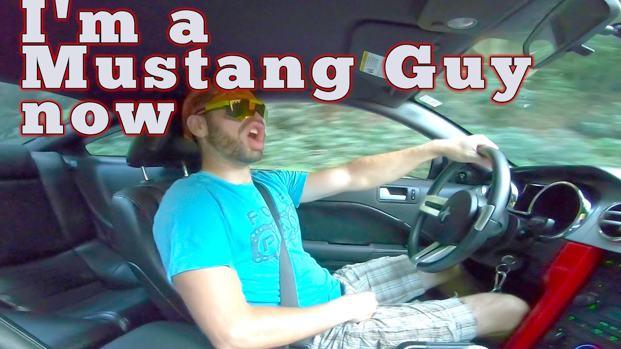 I'm a mustang guy now