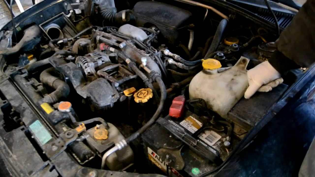 how to change valve cover gaskets subaru impreza 2000 2007 forester 1997 2008 youtube [ 1280 x 720 Pixel ]