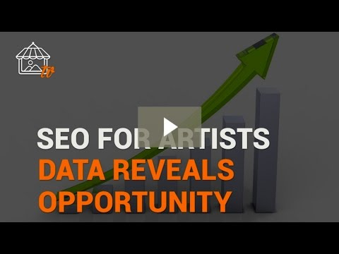 SEO for Artists Lesson 1 – Analytics Data Reveals Opportunity