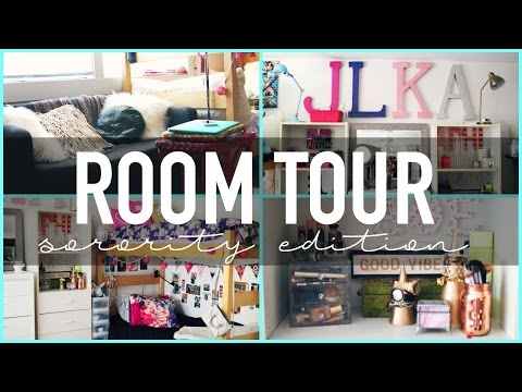 Room Tour   Sorority House Edition