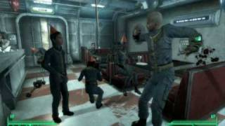Fallout 3 - Super Mutant Behemoth Partying at your Birthday