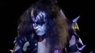 Kiss alive cobo hall 100,000 years part 1