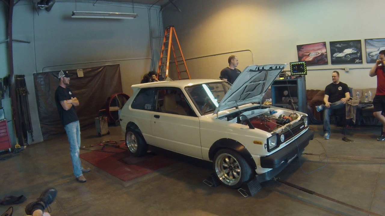s2000 f22 swapped toyota starlet dyno