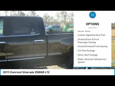2019 Chevrolet Silverado 2500HD 2019 Chevrolet Silverado 2500HD LTZ FOR SALE in Swansboro, CA ST1907
