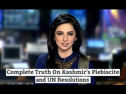 Complete Truth of Kashmir Plebiscite and How Pakistanis Keep Lying!
