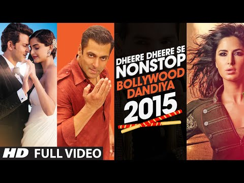 Exclusive Video : Dheere Dheere Se Non Stop Bollywood Dandiya 2015 | T - Series