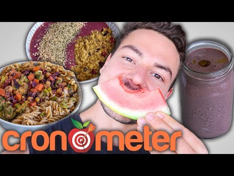 What I Eat In a Day As A Vegan Bodybuilder   with Macros