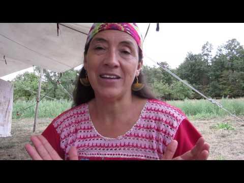 Wurzeln der Erde - Raices de la Tierra Interview mit Nubia, 2. Teil, August 2015