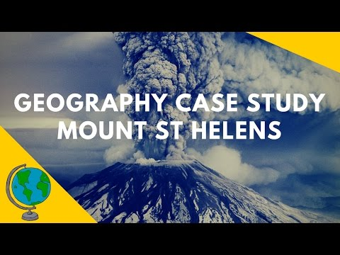 Geography Case Study: Mount St Helens