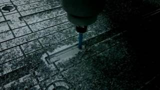 CNC-1325 Фрезерование листа ПВХ для вакуумного стола станка ЧПУ(http://miltec.com.ua/production/61/ Фрезерование листа ПВХ для вакуумного стола фрезерного станка с ЧПУ. Этот же стол устан..., 2016-06-21T14:37:52.000Z)