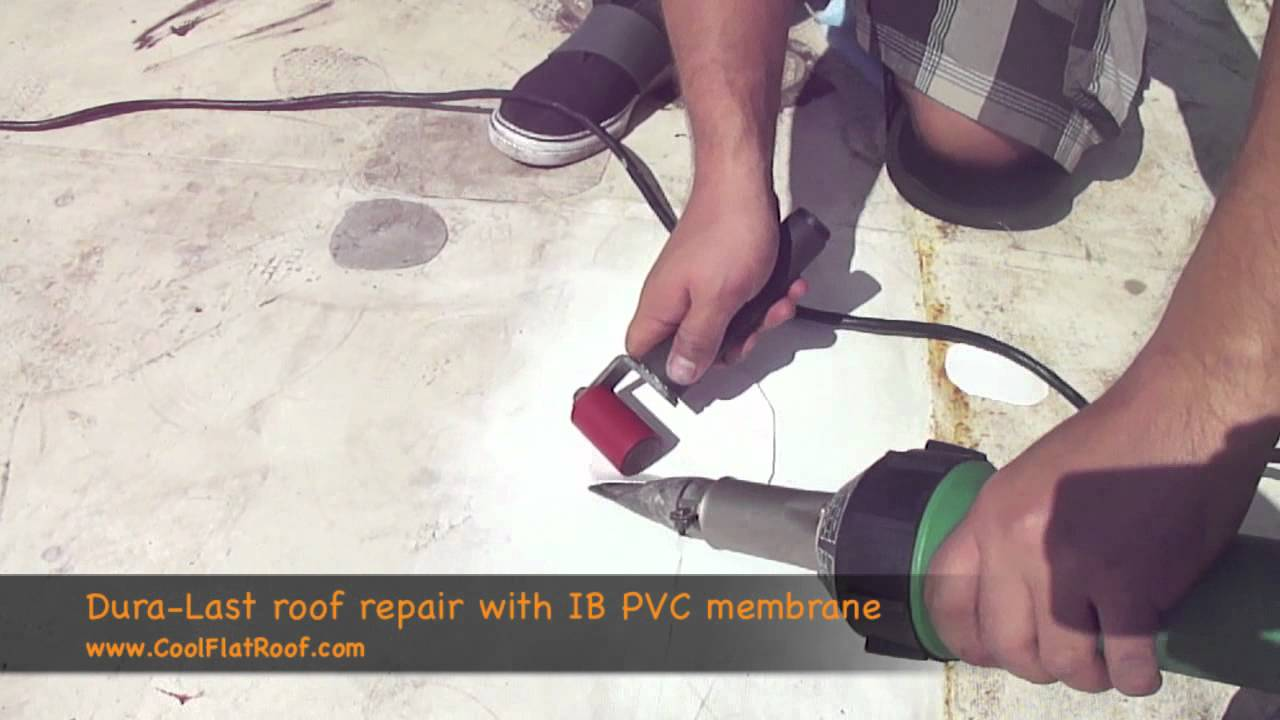 Duro Last Flat Roof Repair Youtube