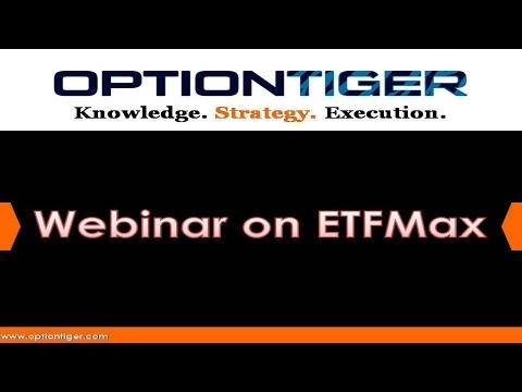 Webinar on ETFMax Low Risk, High Reward Trading in a Stress Free Manner