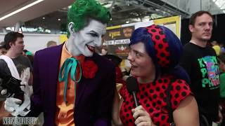 Should BATMAN and CATWOMAN Get Married? Boston Comic Con 2017
