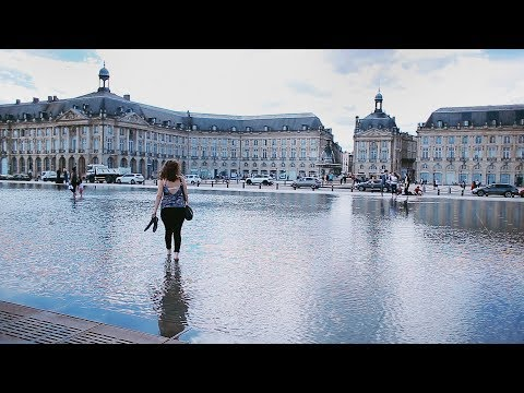 a trip to Bordeaux, France