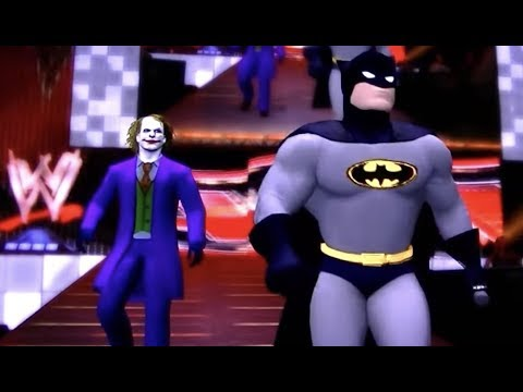 WWE'12: Marvel vs DC Comics