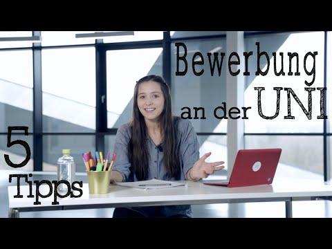 Bewerbung An Der Uni Meine 5 Tipps Vlog
